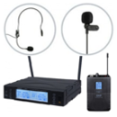 Head and lavalier wireless sets