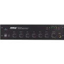 Amplifiers with mixing console